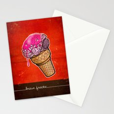 Brain Freeze! Stationery Cards