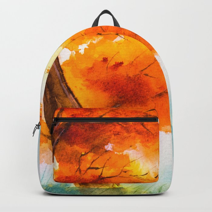 Autumn scenery #17 Backpack