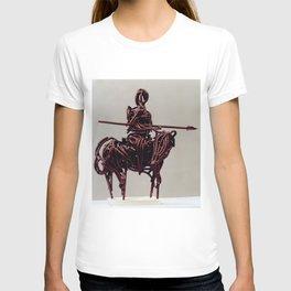 Don Quixote by Shimon Drory T-shirt