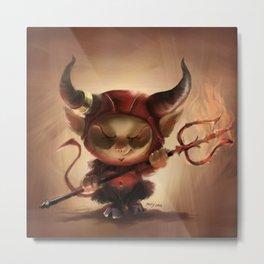 Satan Teemo Metal Print