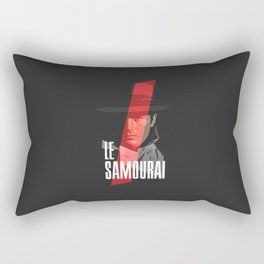 Le Samourai - Alain Delon Rectangular Pillow