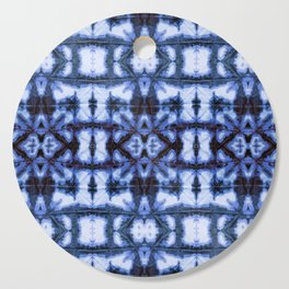 Blue Oxford Shibori Cutting Board