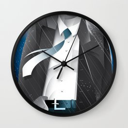 Sin City-Hartigan Wall Clock