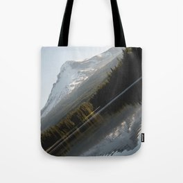Mountain Slide Tote Bag