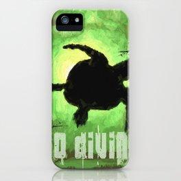 Go Diving! - Turtle iPhone Case