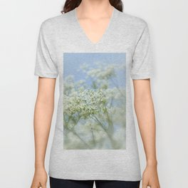 Queen Annes Lace Unisex V-Neck
