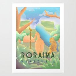 Roraima - Venezuela Art Print