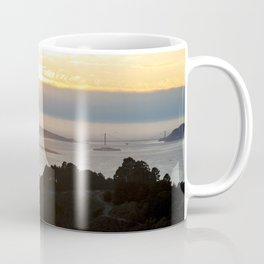 View of the San Francisco Bay Area from Grizzly Peak Coffee Mug