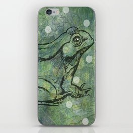 The Magical Frog iPhone Skin