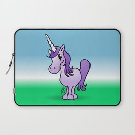 Purple Unicorn Laptop Sleeve