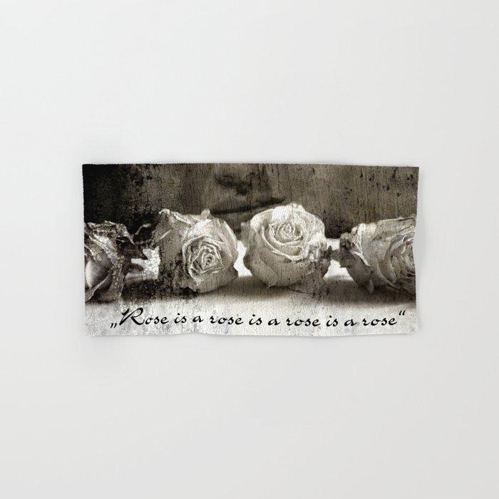 ROSE - vintage version Hand & Bath Towel