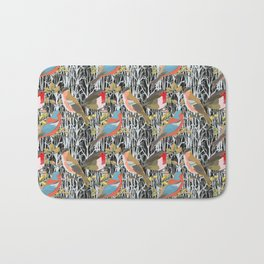 Birds and Trees Bath Mat