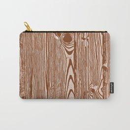 c13D Woodgrain Carry-All Pouch
