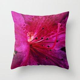 Purple Sparkle Throw Pillow