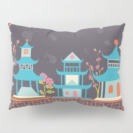 Chinoiserie border Pillow Sham