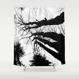 Inky Giants Shower Curtain