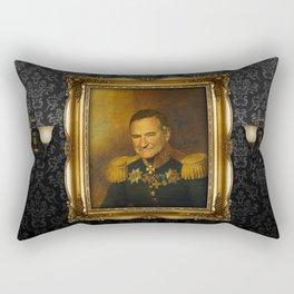 Robin Williams - replaceface Rectangular Pillow