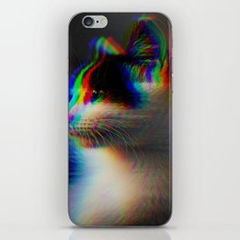 Kitten in colour iPhone Skin