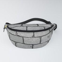 Cobblestone Street - Stone texture Fanny Pack
