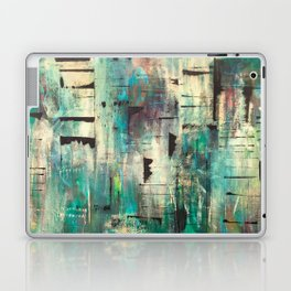 """SINGING IN THE RAIN"" Original Painting by Cyd Rust Laptop & iPad Skin"