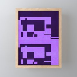 QR Framed Mini Art Print