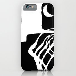 that night the moon asked iPhone Case