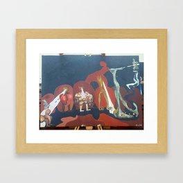 """""""Evolution of Human Kind"""" Framed Art Print"""