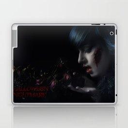 Halloween Nightmare Dead Flowers Laptop & iPad Skin