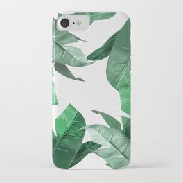 Tropical Palm Print iPhone Case
