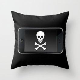 The Death Phone Throw Pillow