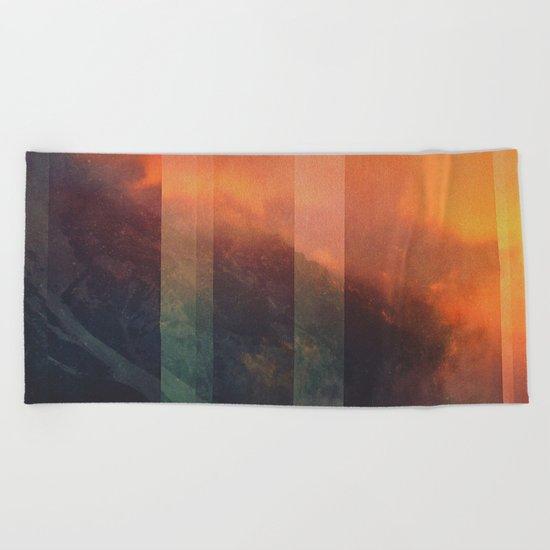 Fractions A98 Beach Towel
