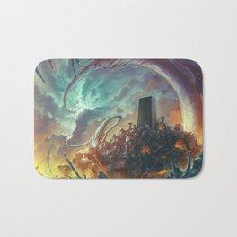 Lovecraft Monolith - By Lunart Bath Mat