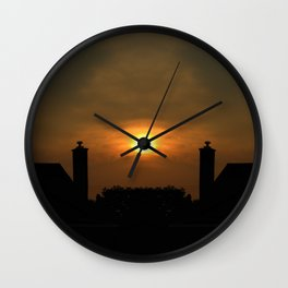Bursting Wall Clock
