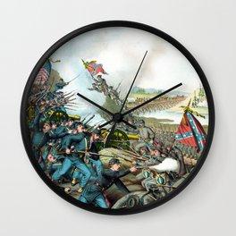 Battle Of Franklin -- Civil War Wall Clock