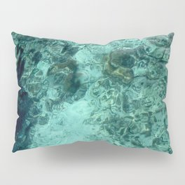 Clearly, deeply, (blue) Pillow Sham