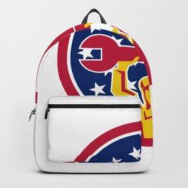 American Mechanic USA Jack Flag Icon Backpack