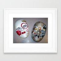 hamlet Framed Art Prints featuring Hamlet by Kelly Margaret Milne Henry