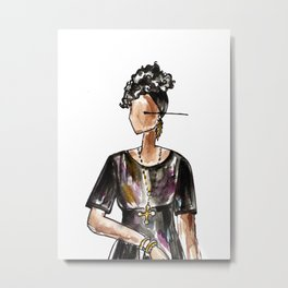 Saturday Night Party (white background) Metal Print