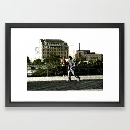 B.U.M. Framed Art Print