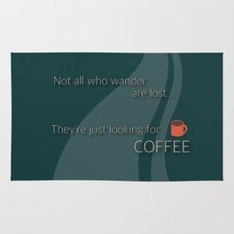 Coffee Wanderlust Rug