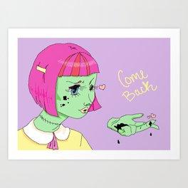 Nevermind Art Print