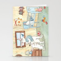 nursery Stationery Cards featuring Nursery by Bluedogrose