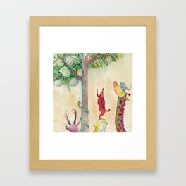 Magic tree Framed Art Print
