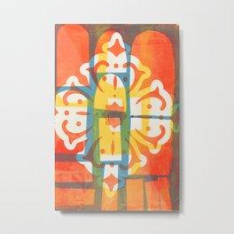 Print in colour Metal Print