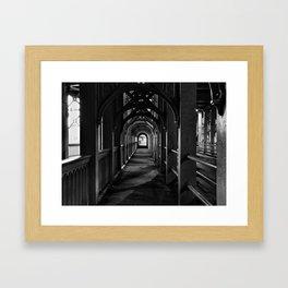 The High Level Bridge Framed Art Print
