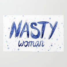 Nasty Woman ART | Such a Nasty Woman Rug