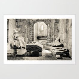 How Ghosts See The Tomb Art Print