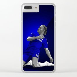 Didier Drogba - Chelsea Clear iPhone Case