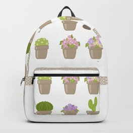 A wonderful design for those who are fond of plants , flowers . Backpack