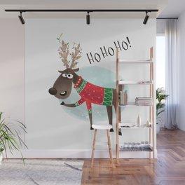 Christmas Reindeer Wall Mural